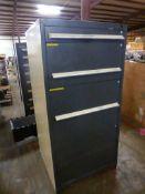 "Vidmar-Style 4-Drawer Cabinet | 30""L x 28""W x 61""H"
