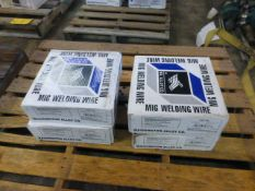 Lot of (4) Spools of Washington Alloy Co Mig Welding Wires | Part No. TS 316L 093; Spec: AWS A5-9