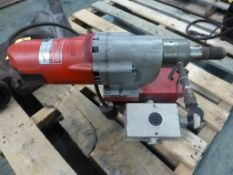 Milwaukee Heavy Duty Dymo Drill | Part No. 4096; 20A; 120V; 60 Hz; 900/450 RPM