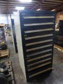 "Vidmar-Style 11-Drawer Cabinet | 28""L x 30""W x 61""H"
