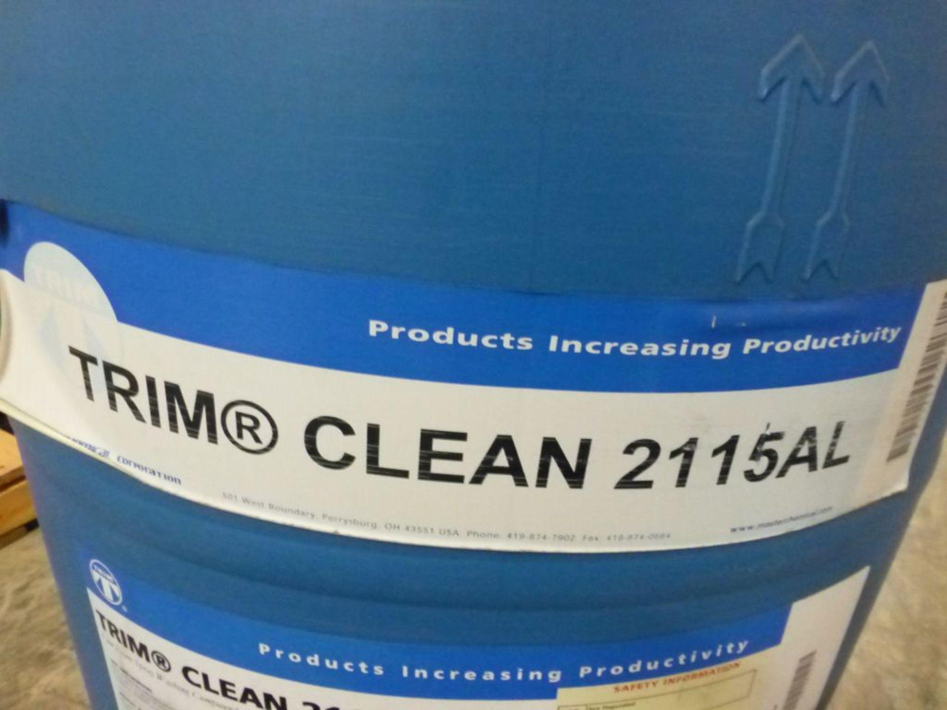 TRIM Clean 2115AL Low Foam Spray Washing Compound   Batch No. 072808C; 491 lbs - Image 2 of 4