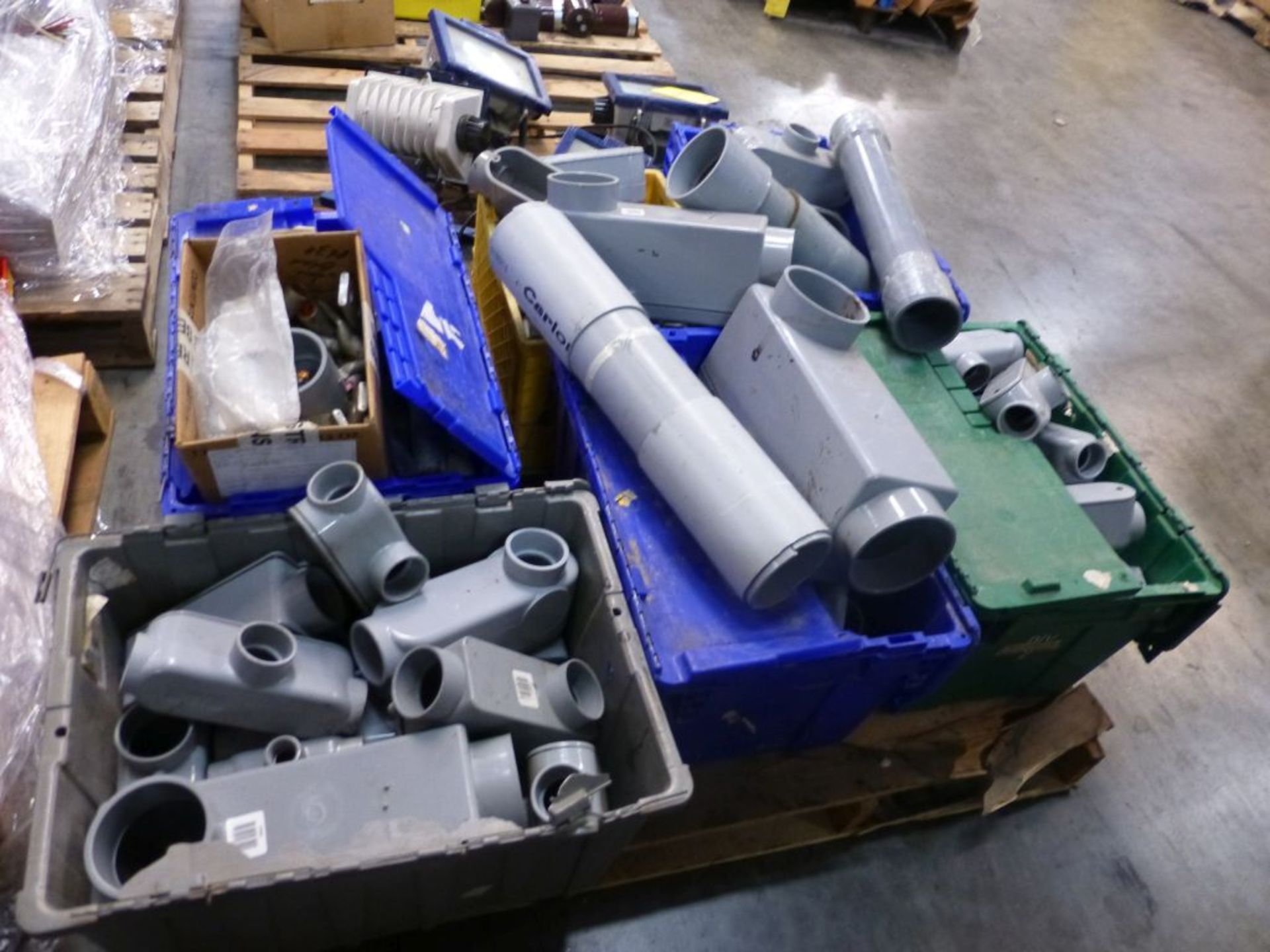 Lot of Assorted PVC Components | Brands Include:; Scepter; Carlum
