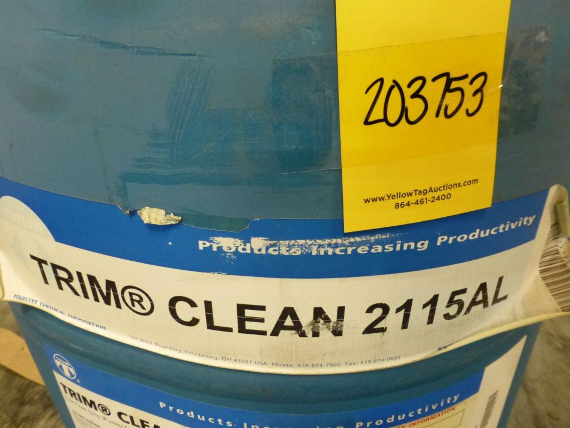TRIM Clean 2115AL Low Foam Spray Washing Compound | Batch No. 072808C; 491 lbs - Image 2 of 5