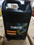 Lot of (42) 4-Gallon Cases of Thrive RTU Surface Cleaner w/Bleach
