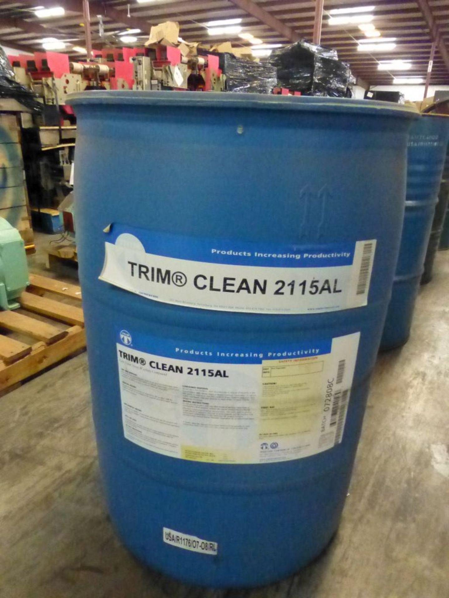 TRIM Clean 2115AL Low Foam Spray Washing Compound   Batch No. 072808C; 491 lbs