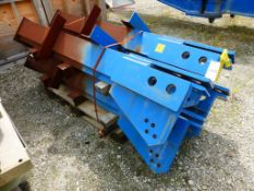 Lot of (4) Sets of Embeded Foundation Fixing Angles | No. PD3-2