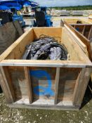 Lot of Assorted Hydraulic Hoses