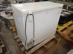 Haier Household Freezer | Model No. HF71CM33NW; 1.7A; 115V; 7.1 Cubit Ft; 80 lbs