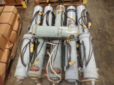 Lot of (11) Electrode Stabilizing Ovens | Part No. 10BVT; 120V; 100W