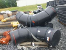 """Lot of (3) No. 17 20"""" Pipe Fittings 