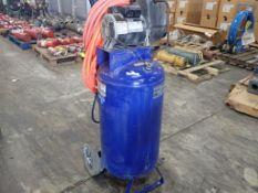 Campbell Hausfeld 26-Gallon Air Compressor | Model No. WL611103AJ; 15A; 120V; 125 PSI Max; 1PH