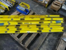 Lot of Assorted Levels | Brands Include:; Stanley; Empire; Klein Tools