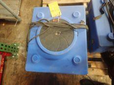 Hepa Air Scrubber | Part No. RA-650; 1/3 HP; 2.5A; 2950 RPM