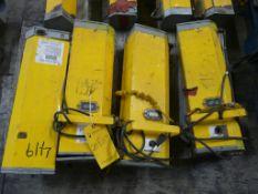 Lot of (4) DryRod II Electrode Stabilizing Ovens | Part No. 7451806; 220-240V; 70W