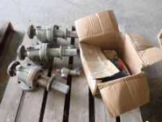 Lot of Assorted Components   Includes: Knuckle Valve