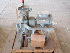 Lot of (1) Pump and (1) Motor   (1) Proporitoreers Propsuperb Metering Pump, Model No. 1721-62-9517;