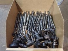 """Lot of Assorted Drill Bits & Tool Holders   25/64""""; 1/4""""; 23/84"""""""