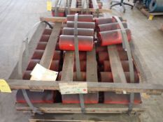 """Lot of Approx (35) 6"""" x 13"""" Idle Rollers"""
