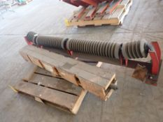 Lot of (1) Shaft and (1) Troughling Idler