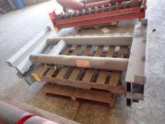 Lot of (2) Adjustable Rail Rollers