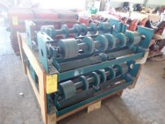 """Lot of (5) Self Aligning RTN 36"""" Idlers"""