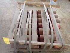 """Lot of Approx (36) 6"""" x 13"""" Idle Rollers"""