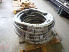Lot of (3) Novaflex 5017 Material Transfer Hoses
