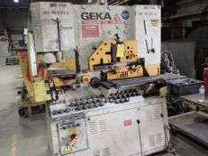 Geka 70-Ton Ironworker   Model No. HYD-70; Includes Owner Manual