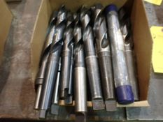 """Lot of Assorted Drill Bits   Includes:; 1-3/16""""; 1""""; 1-11/32"""""""