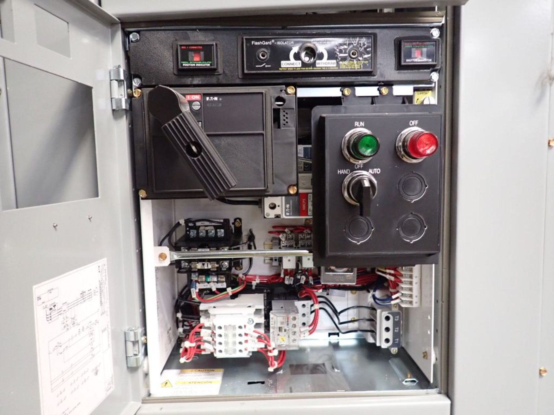 Eaton Freedom 2100 Series Motor Control Center | (11) F206-30A-10HP; (5) F206-15A-10HP; (1) SVX900- - Image 46 of 102