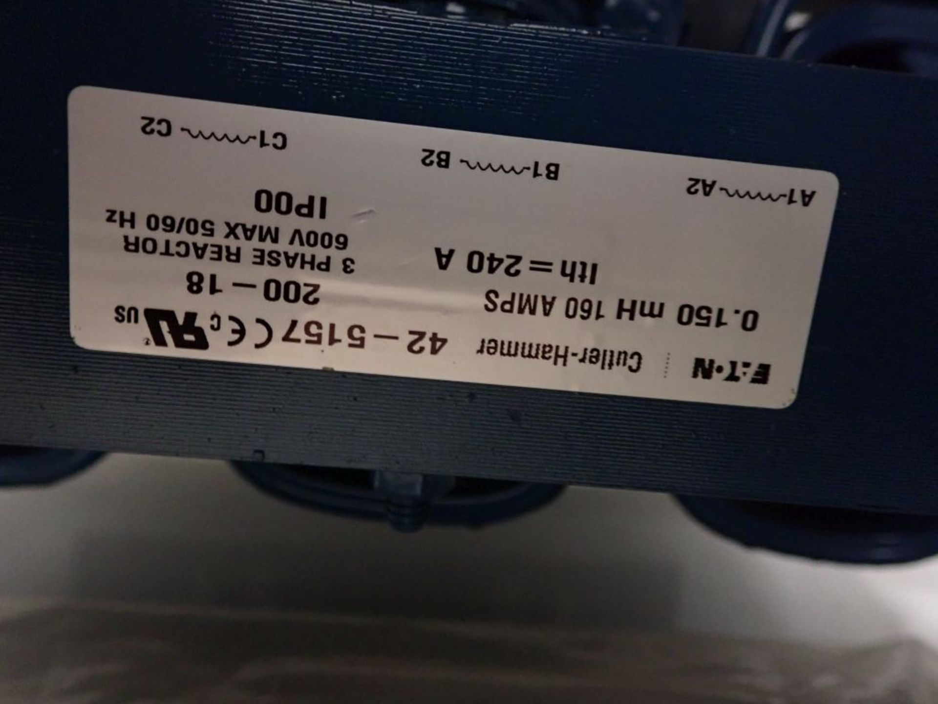 Eaton Freedom 2100 Series Motor Control Center | (11) F206-30A-10HP; (5) F206-15A-10HP; (1) SVX900- - Image 56 of 102