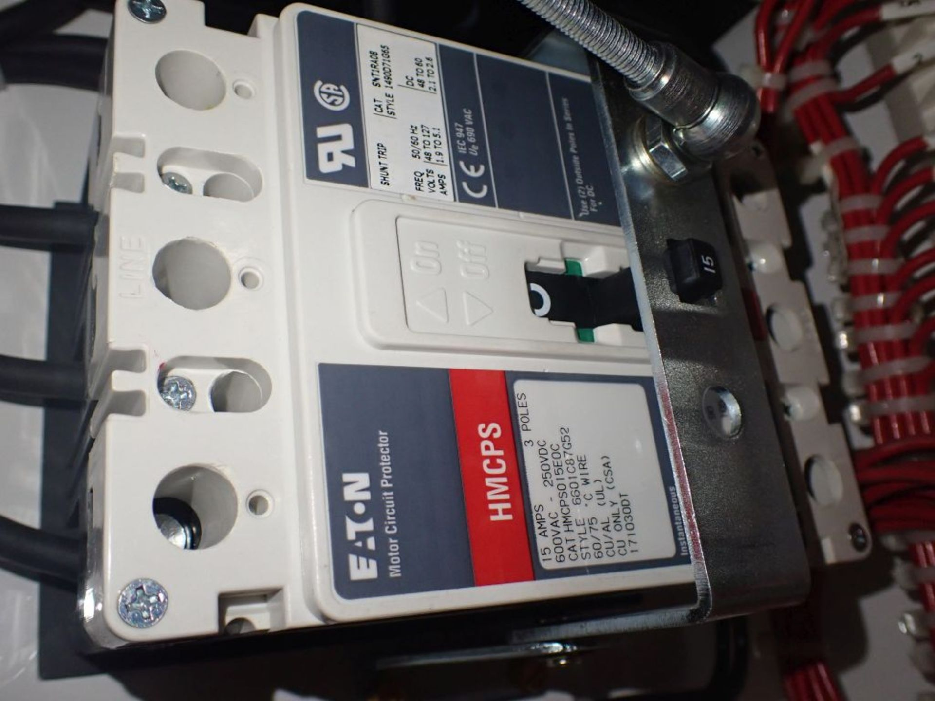 Eaton Freedom Flashgard Motor Control Center   (3) F216-15A-10HP; (1) FDRB-125A, with 150A - Image 28 of 57