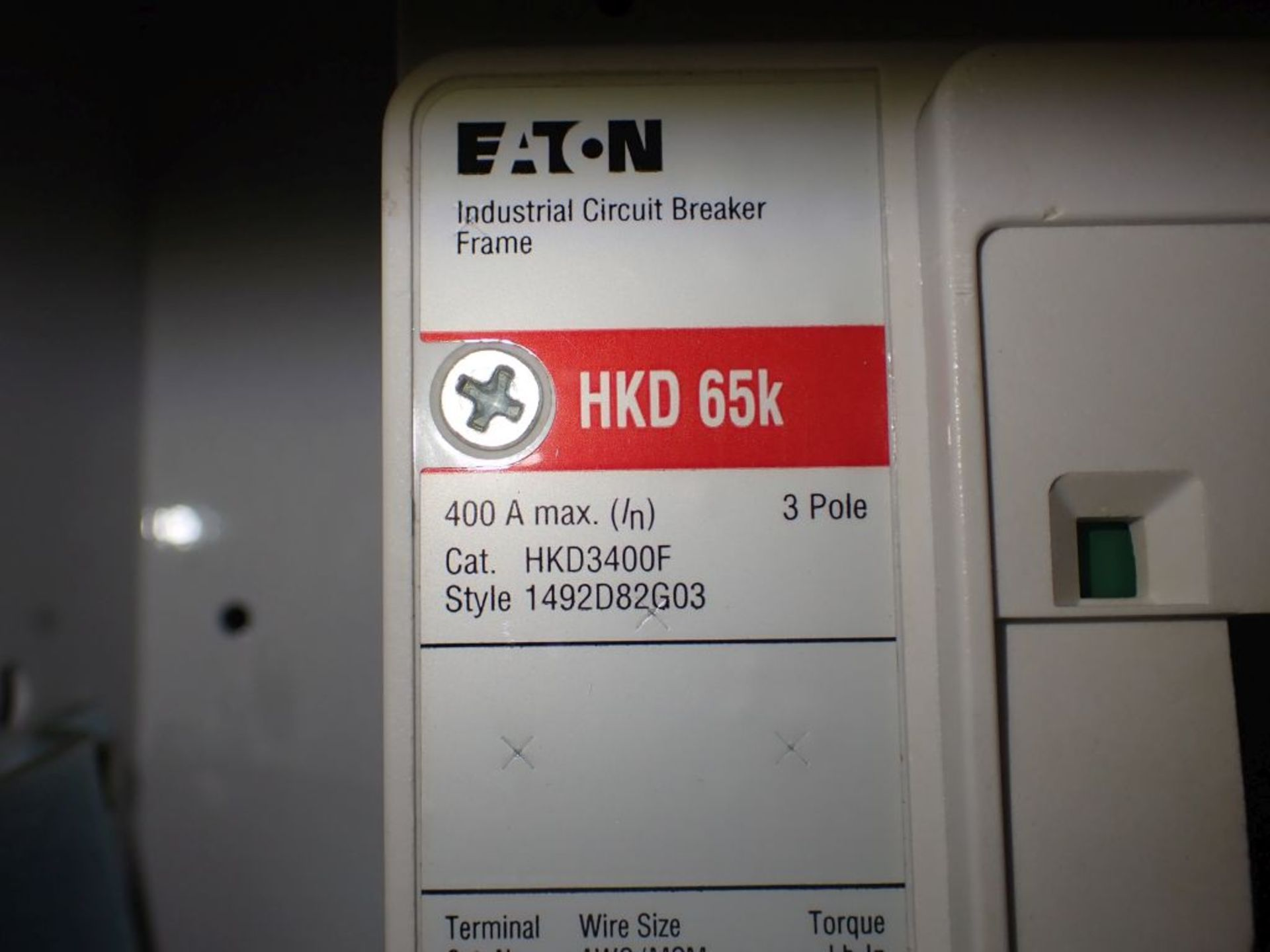 Eaton Freedom Flashgard Motor Control Center | SCR0753278, 480V; (1) INCB-250A, with 400A - Image 27 of 69