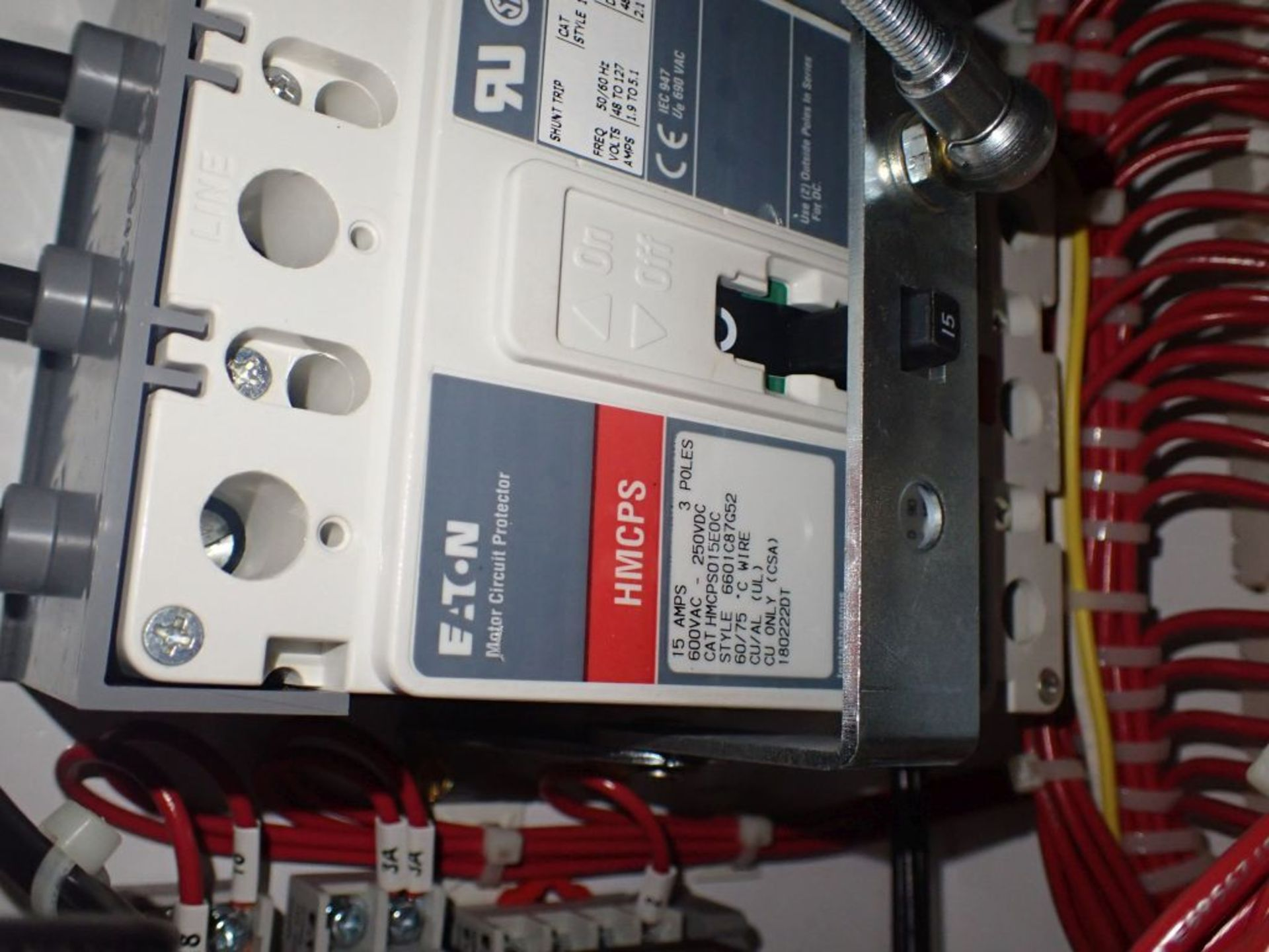 Eaton Freedom Flashgard Motor Control Center w/Components | (5) F206-15A-10HP; (4) F206-30A-10HP; ( - Image 31 of 84