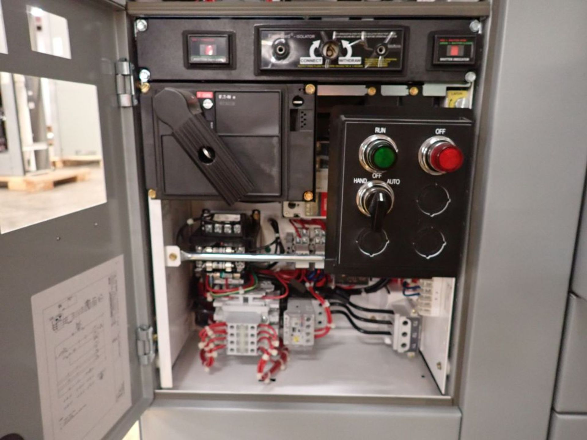 Eaton Freedom Series 2100 Motor Control Center   Never Installed; Includes:; (1) F206-30A; (1) - Image 27 of 64
