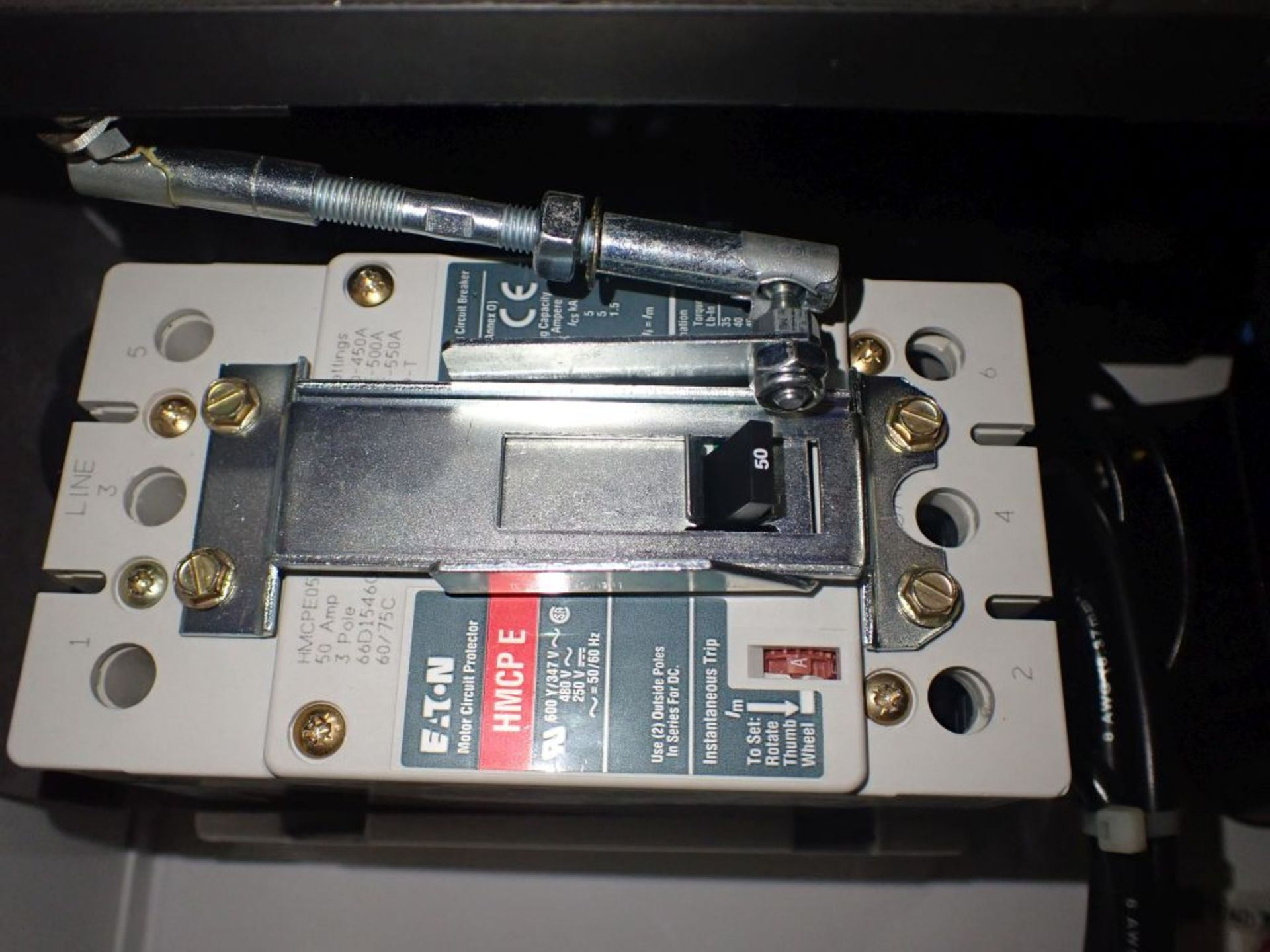 Eaton Freedom 2100 Series Motor Control Center   (2) F206-15A-10HP; (2) SVX900-50A, with Eaton AF - Image 43 of 48