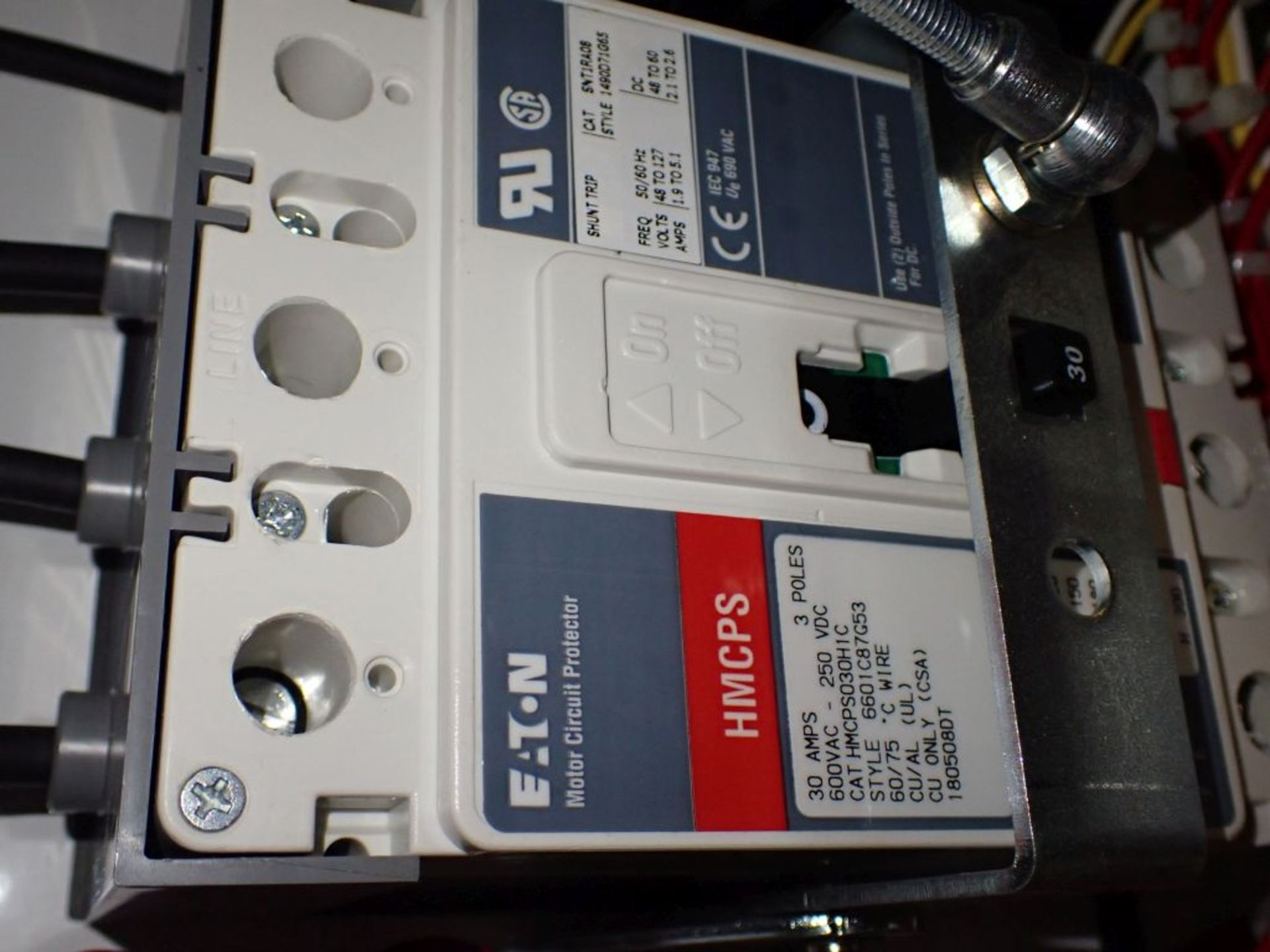 Eaton Freedom 2100 Series Motor Control Center | (11) F206-30A-10HP; (5) F206-15A-10HP; (1) SVX900- - Image 30 of 102