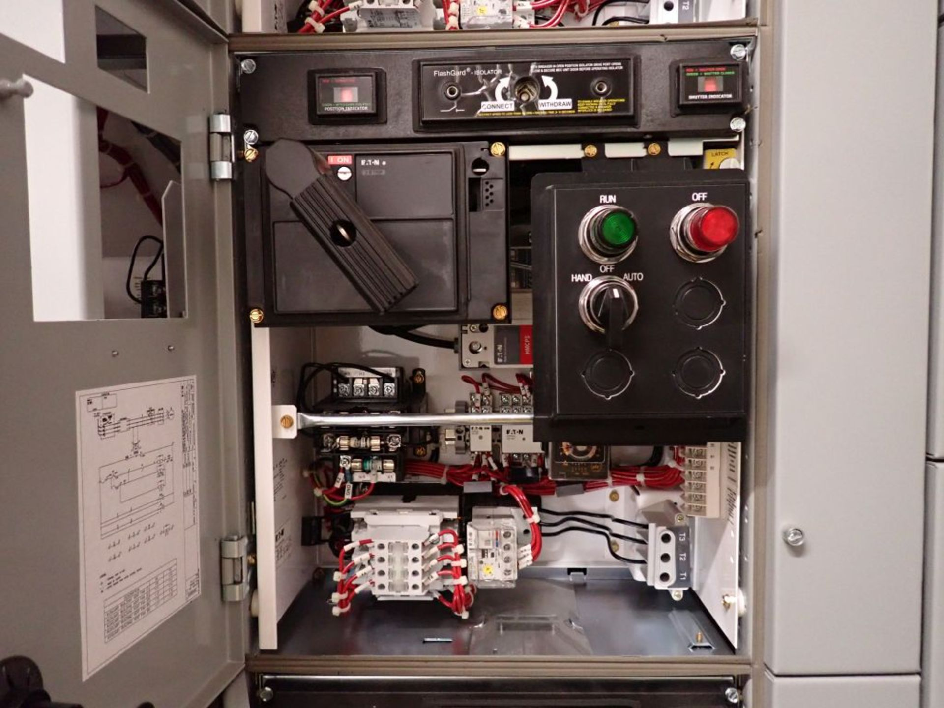 Eaton Freedom 2100 Series Motor Control Center | (11) F206-30A-10HP; (5) F206-15A-10HP; (1) SVX900- - Image 62 of 102