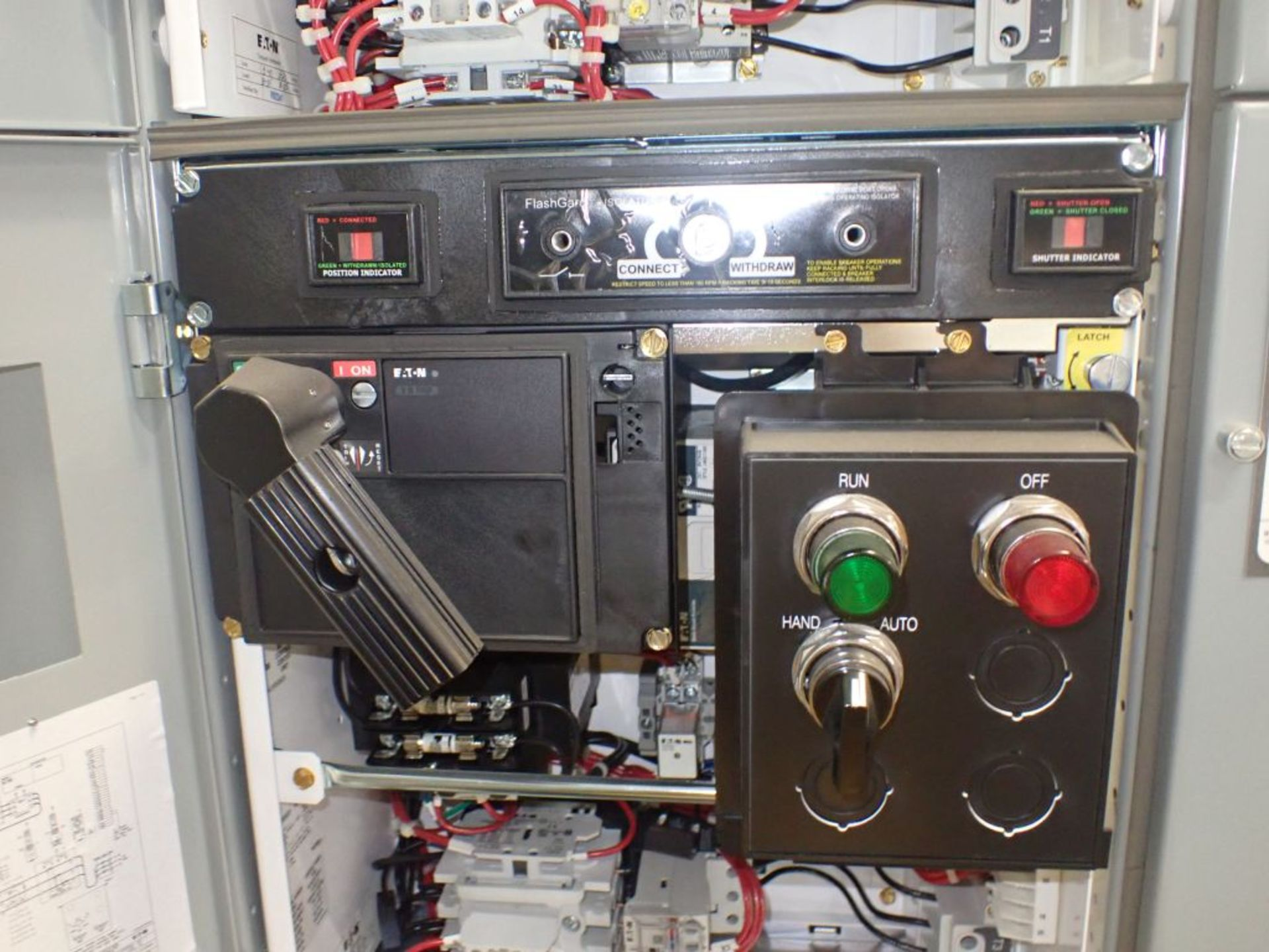 Eaton Freedom Flashgard Motor Control Center w/Components | (5) F206-15A-10HP; (4) F206-30A-10HP; ( - Image 38 of 84
