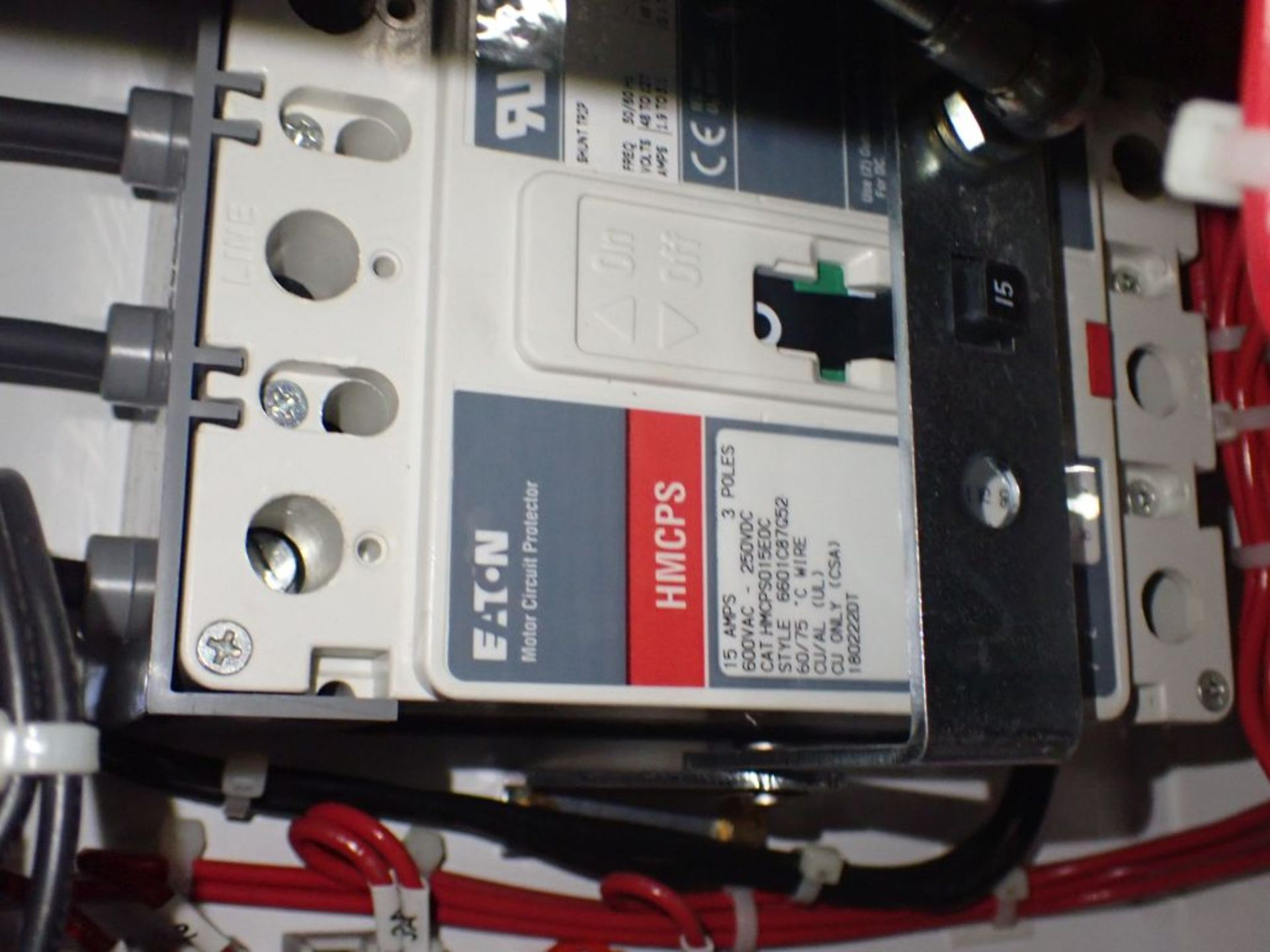 Eaton Freedom 2100 Series Motor Control Center   (2) F206-15A-10HP; (2) SVX900-50A, with Eaton AF - Image 18 of 48
