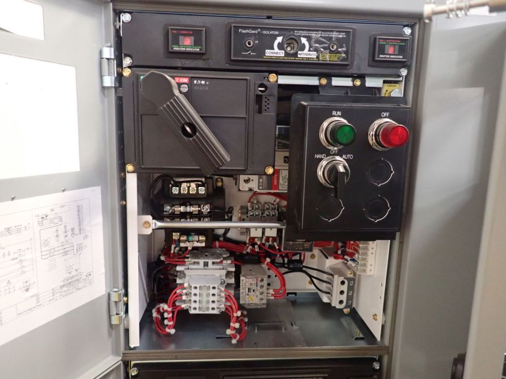 Eaton Freedom Flashgard Motor Control Center w/Components | (5) F206-15A-10HP; (4) F206-30A-10HP; ( - Image 9 of 84