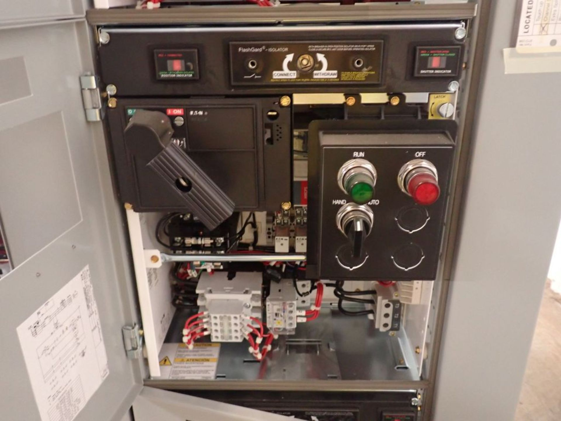 Eaton Freedom 2100 Series Motor Control Center | (2) F206-15A-10HP; (1) FDRB-250A; (1) FDRB-400A; ( - Image 84 of 104