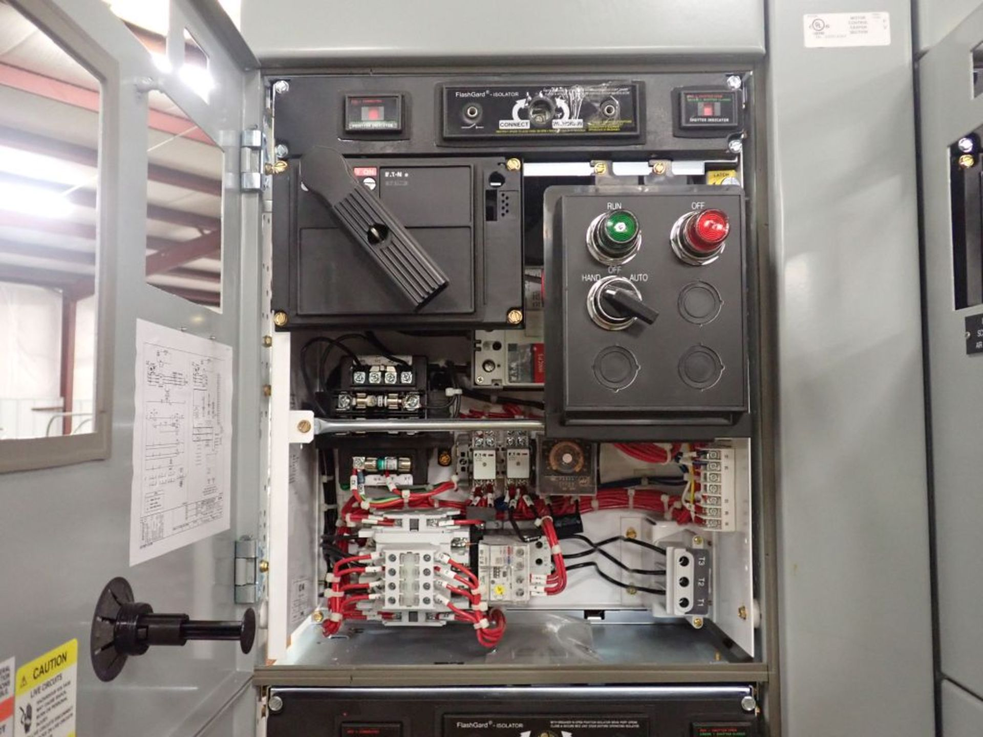 Eaton Freedom 2100 Series Motor Control Center   (2) F206-15A-10HP; (2) SVX900-50A, with Eaton AF - Image 14 of 48
