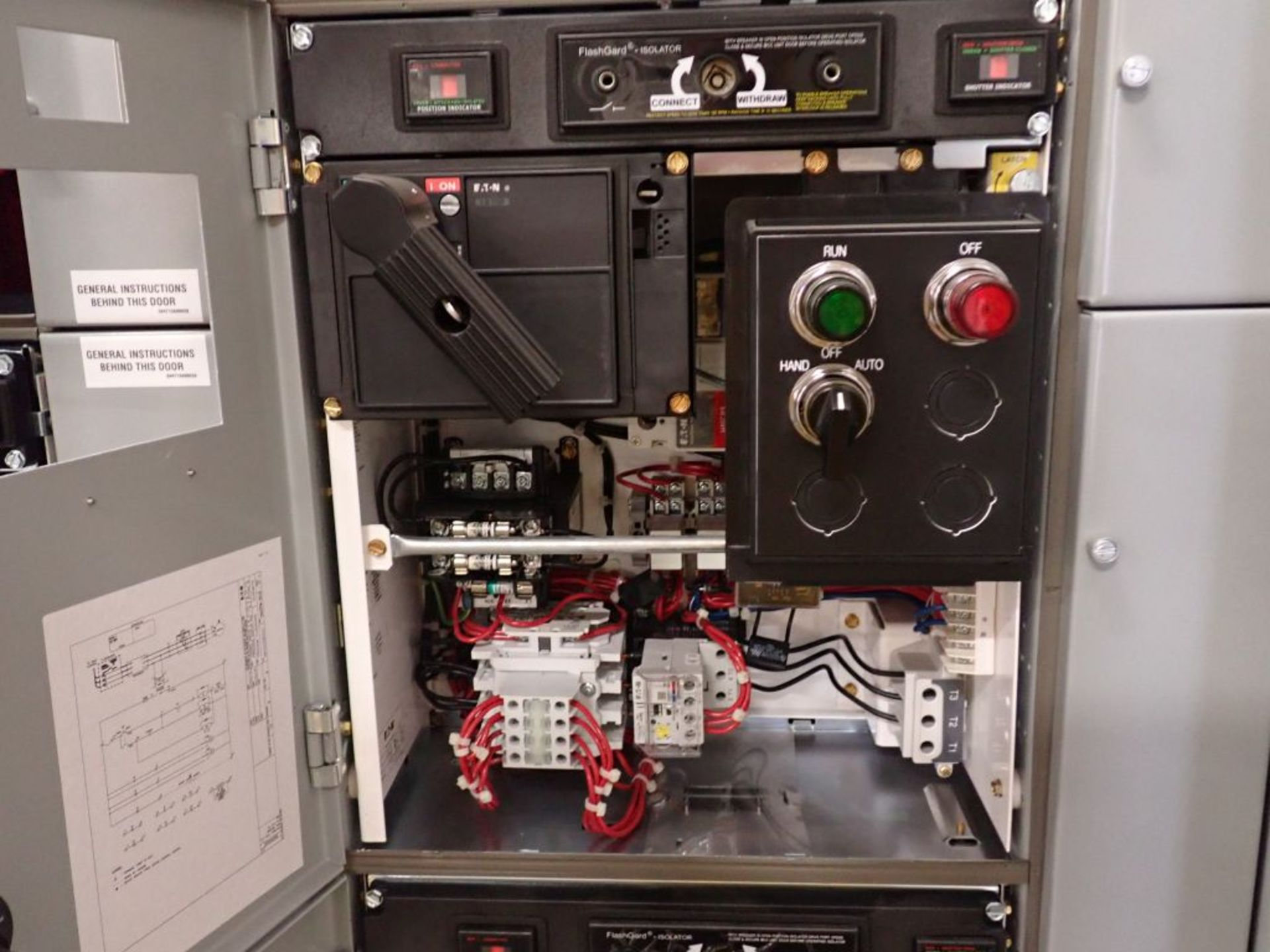 Eaton Freedom Series 2100 Motor Control Center   Never Installed; Includes:; (1) F206-30A; (1) - Image 40 of 64