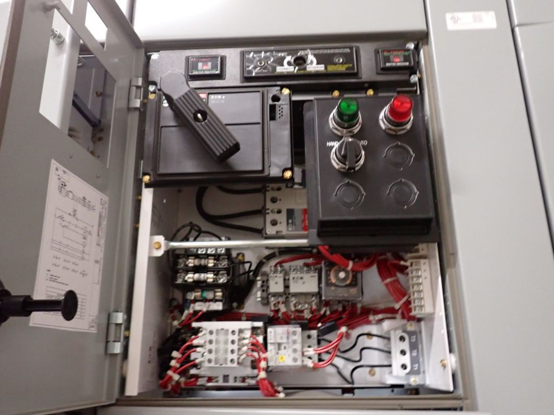 Eaton Freedom 2100 Series Motor Control Center | (11) F206-30A-10HP; (5) F206-15A-10HP; (1) SVX900- - Image 57 of 102