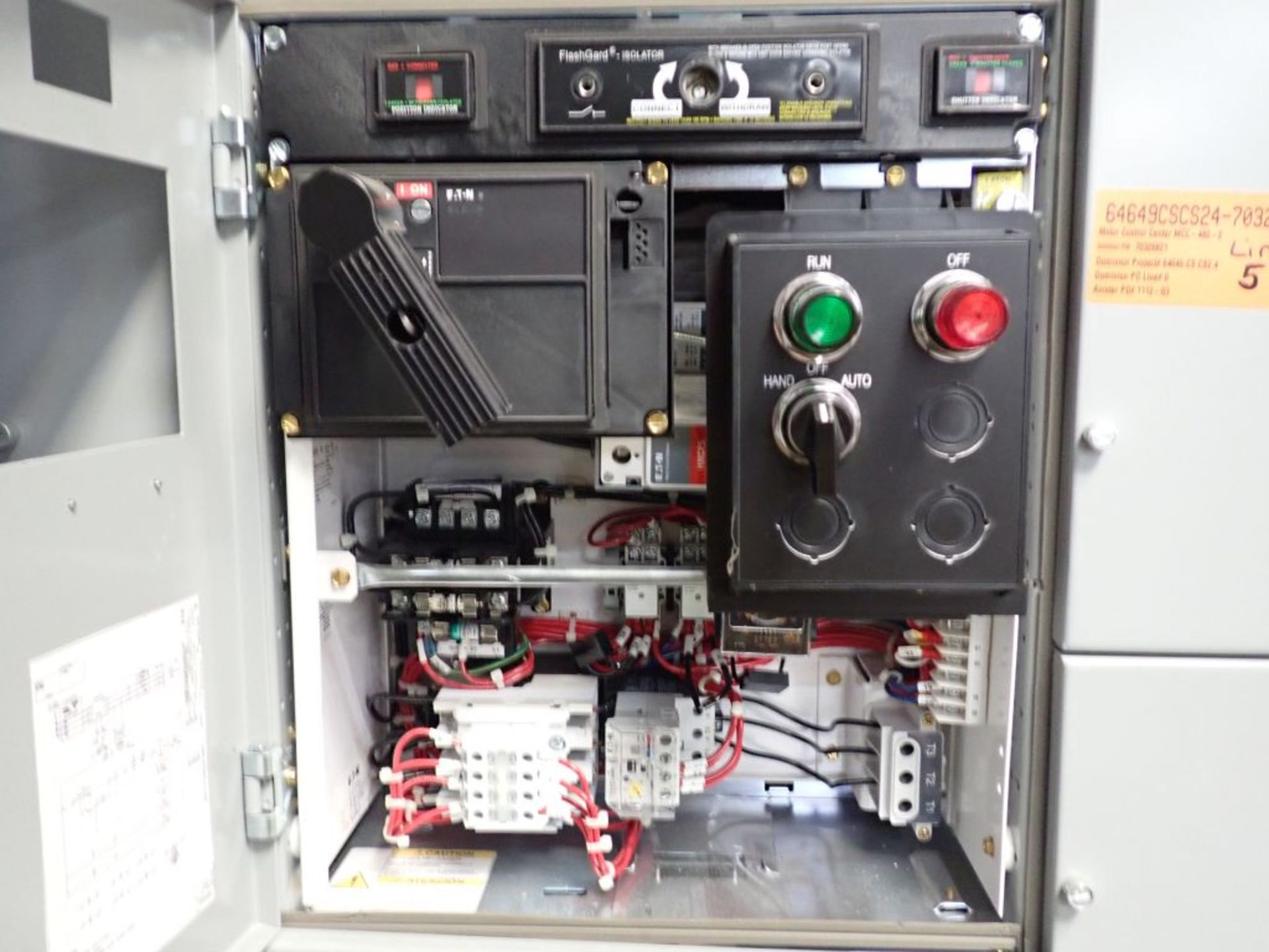 Eaton Freedom 2100 Series Motor Control Center | (11) F206-30A-10HP; (5) F206-15A-10HP; (1) SVX900- - Image 41 of 102