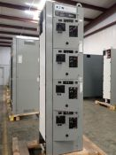 Eaton Freedom Flashgard Motor Control Center | Never Installed; Includes:; (4) F206-30A