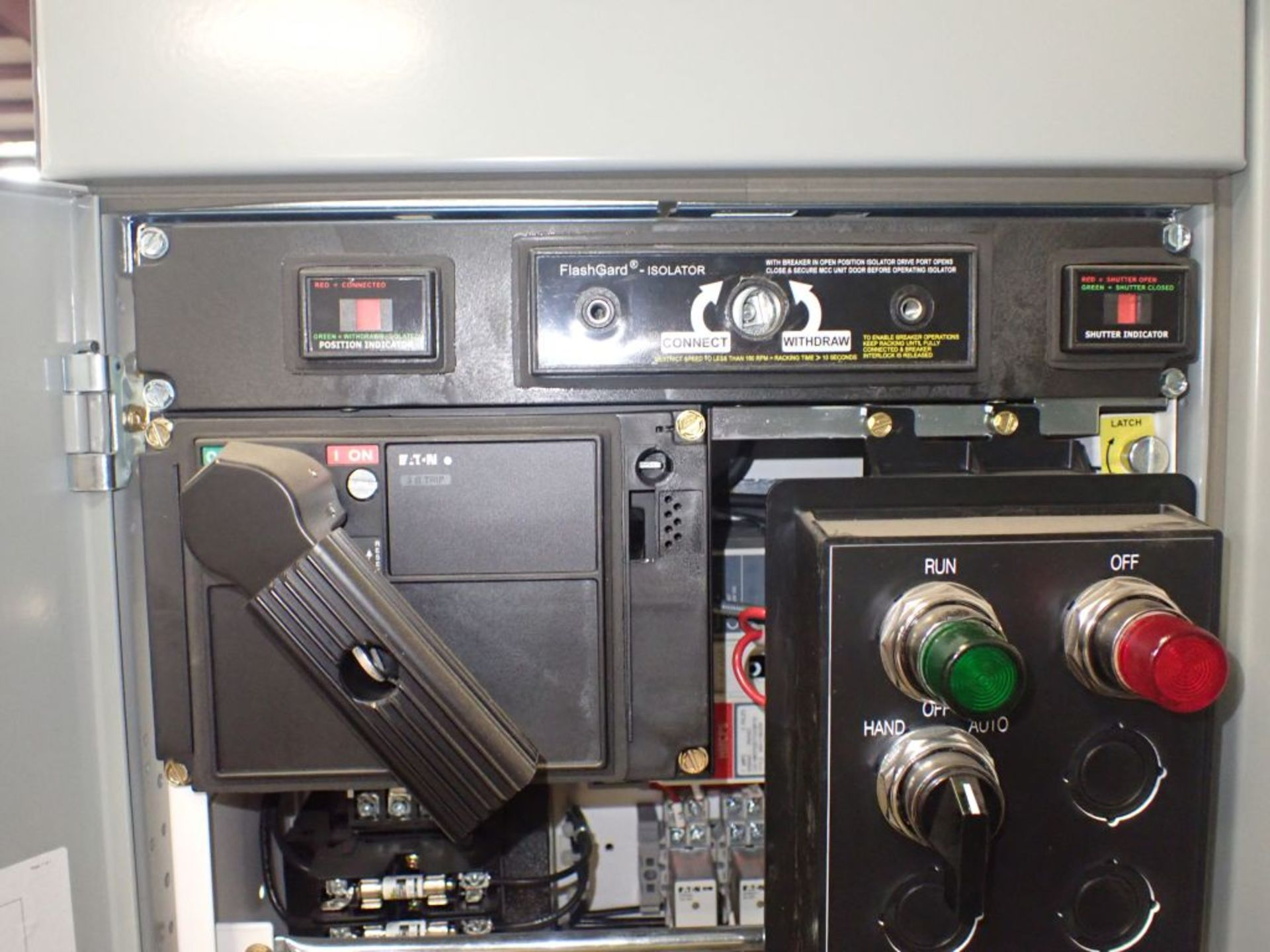 Eaton Freedom 2100 Series Motor Control Center | (2) F206-7A-10HP; (3) F206-15A-10HP; (1) FDRB-100A; - Image 49 of 87