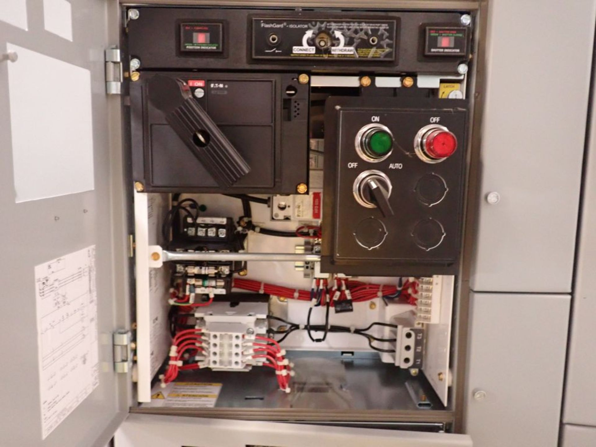 Eaton Freedom 2100 Series Motor Control Center | (2) F206-15A-10HP; (1) FDRB-250A; (1) FDRB-400A; ( - Image 64 of 104