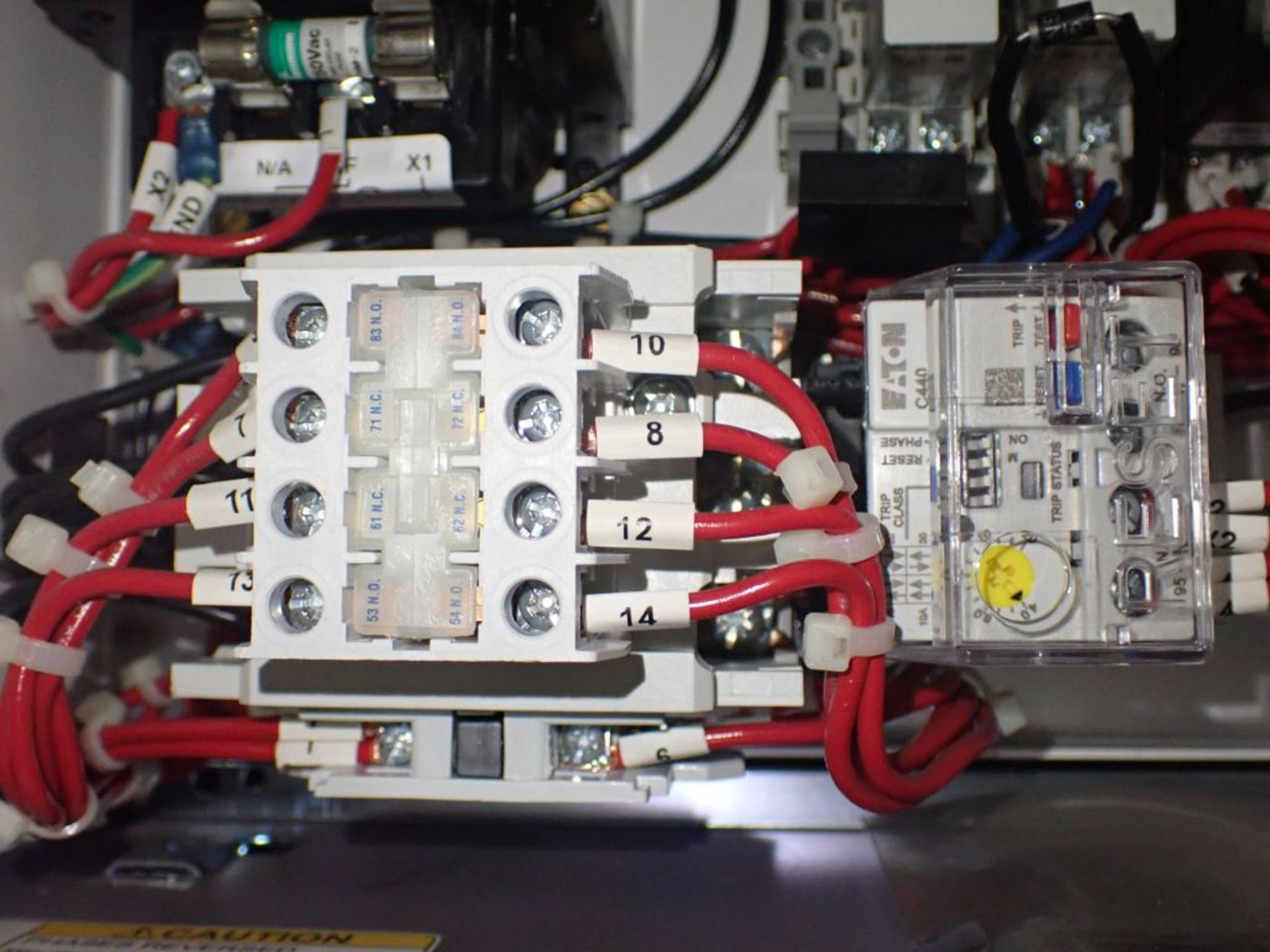 Eaton Freedom 2100 Series Motor Control Center | (2) F206-15A-10HP; (1) FDRB-250A; (1) FDRB-400A; ( - Image 78 of 104